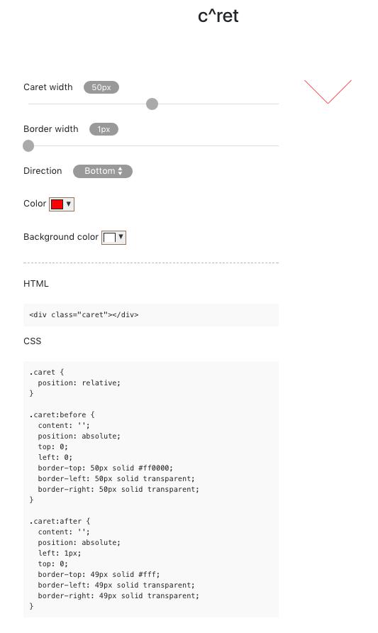 c^ret - a web based CCS generator tool : Lugo Labs